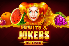 Fruits & Jokers: 40 lines Mobile