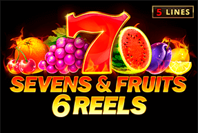 Sevens&Fruits: 6 reels mobile