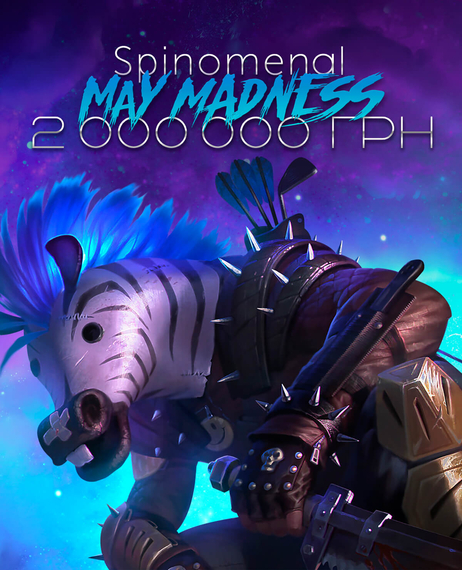 Spinomenal May Madness